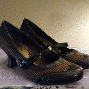 Mudd Poptart Vintage Style Mary Janes